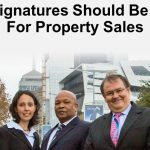 Why E-signatures Should Be Allowed For Property Sales